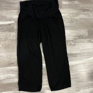 Old Navy XL Maternity Linen Pants